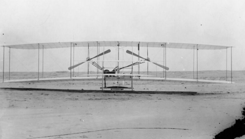 1903_Wright_Brothers_Flyer_Front